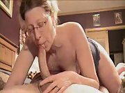 Mature woman supplies the most amazing oral job