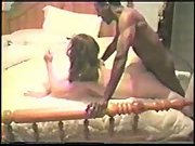 cuck husband filming super-sexy wife breeding with two black men and buttfuck