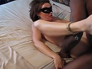 brunette bbc superslut getting pummelled by a black bull