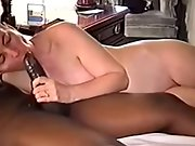 short haired black-haired wifey blacked on camera