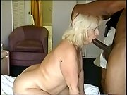 plumper blonde plumbed by enormous dicked ebony stranger while husband takes pic