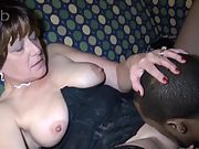Mature wife porking black with fat trouser snake