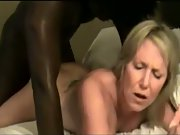 muddy mature blonde taken in front of husband by giant ebony stiffy