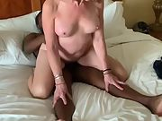 Reverse cowgirl posture for taking large black cock lover