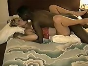 interracial breeding session between my wife and a local dark-hued