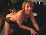 milf is penetrating supreme by a black fellow her husband arranged cuck porno